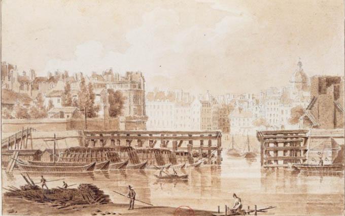 Estacade_Antoine-Louis Goblain vers 1820