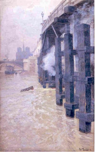 030 fritz-thaulow-la-seine-en-decembre 1892