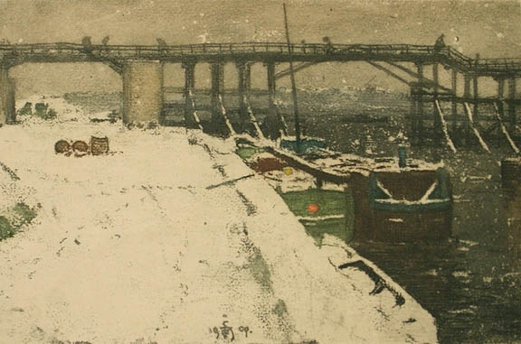 Simon_Tavik_frantisek-estacade hiver 1909 retournee