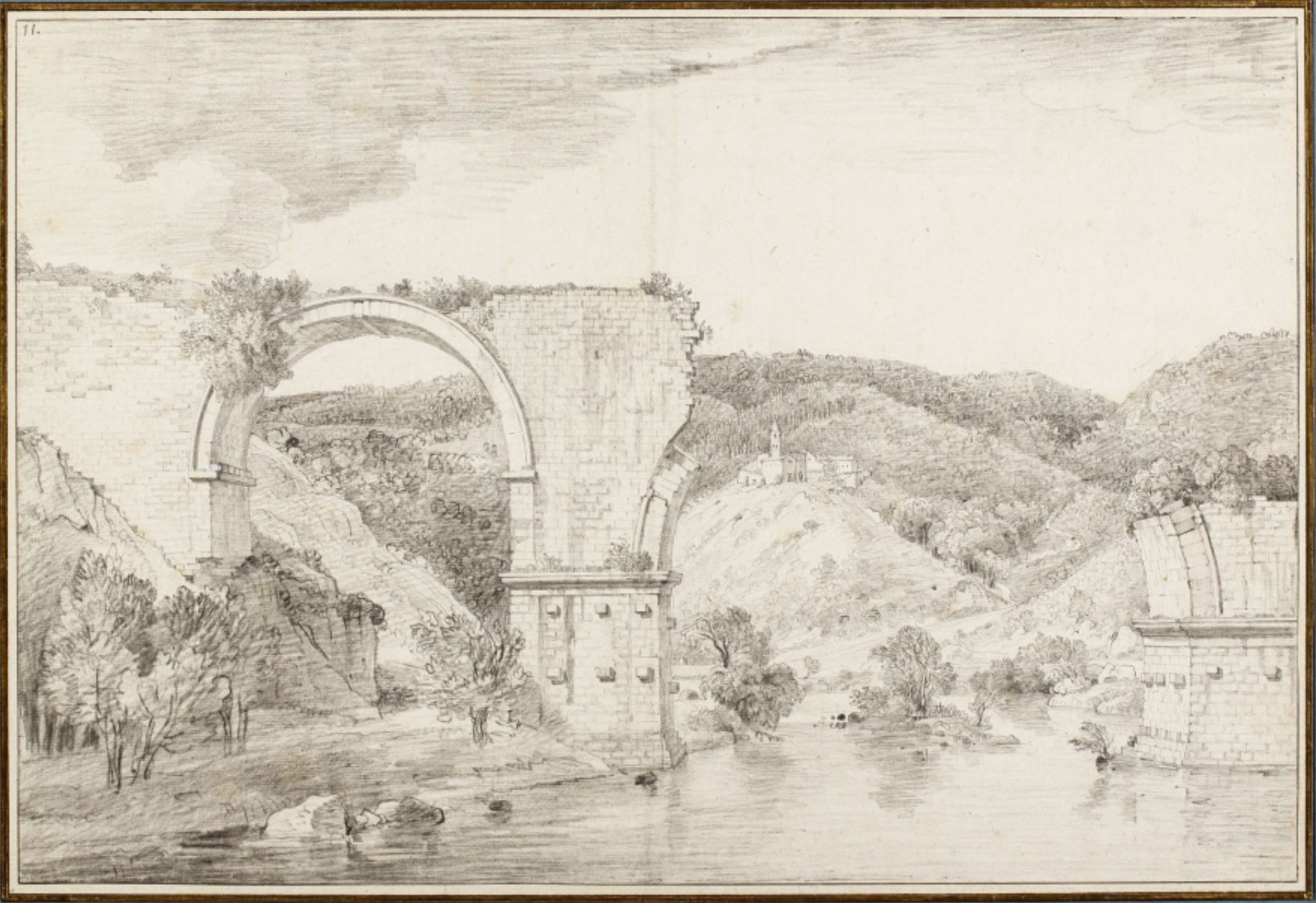 1779-80 ca Cassas Louis-Francois Suffolk, Ickworth, National Trust