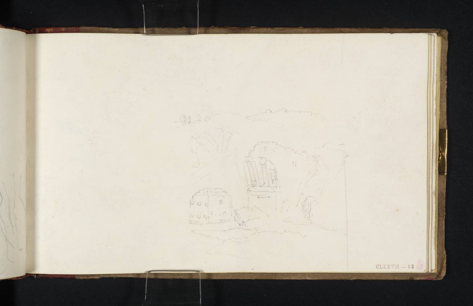 Narni, with Bridge of Augustus 1819 by Joseph Mallord William Turner 1775-1851