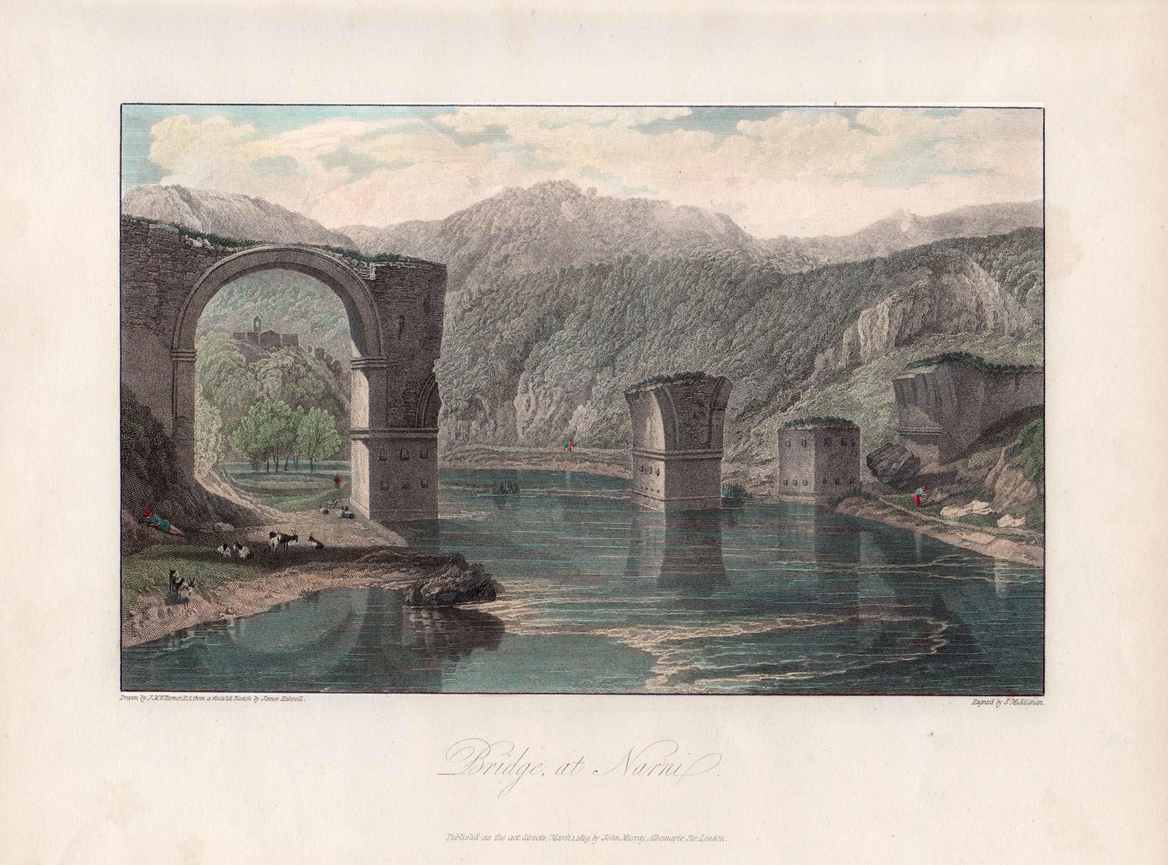 1819_Middiman Turner Pont de Narni