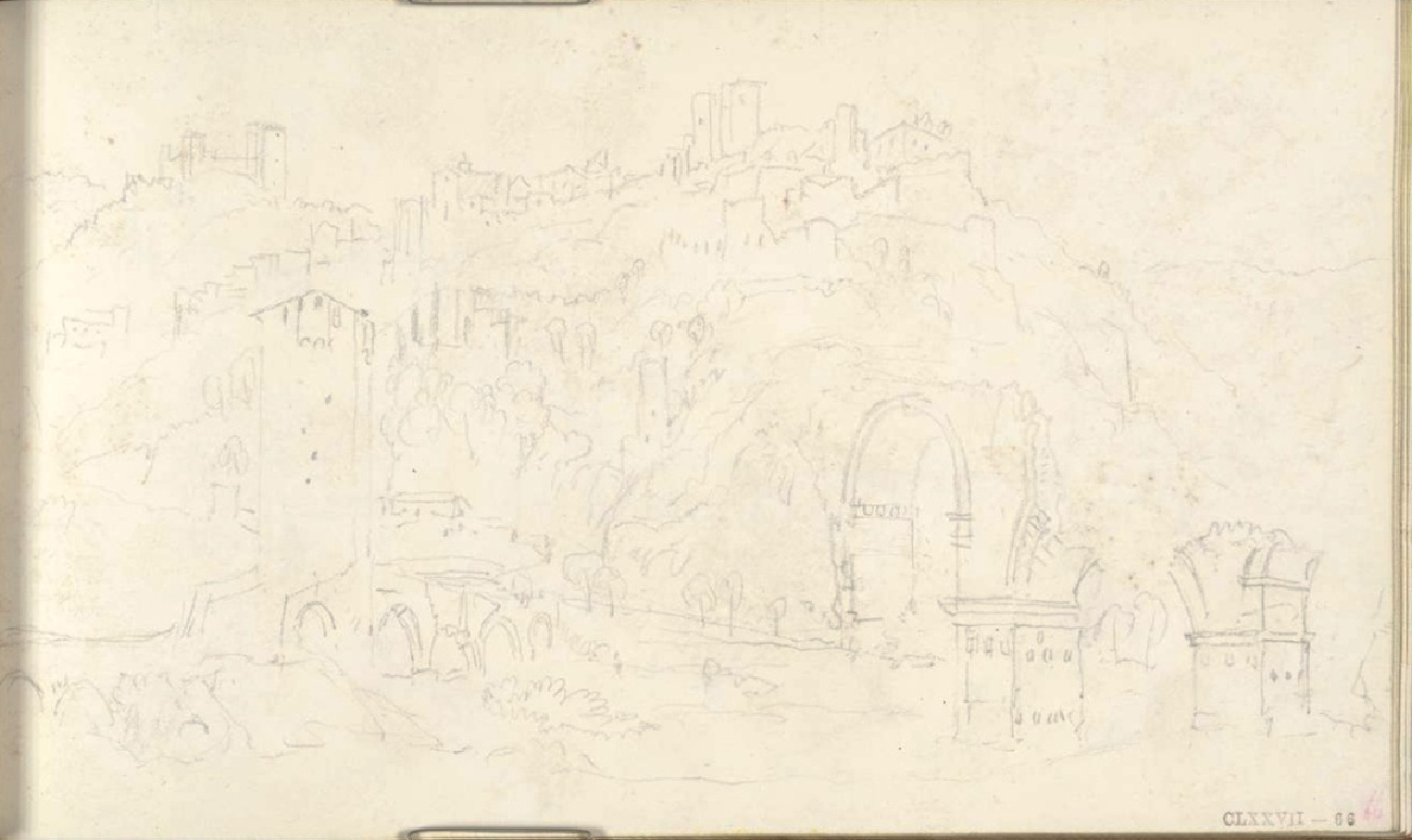 1819_Turner_Pont Narni carnet Ancone-Rome dessin 132