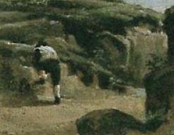 1827-Corot-Pont de Narni personnage droite