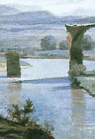 1827-Corot-Pont de Narni_piles