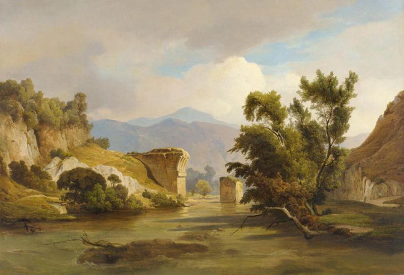1833 Fries Ernst, Oberursel im Taunus, Galerie Joseph Fach