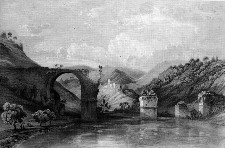 1840_Bichebois_Chapuy_Pont Narni