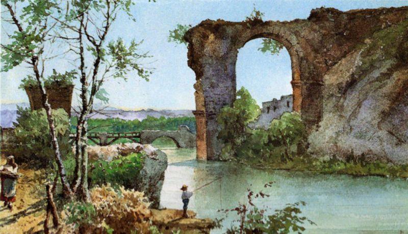 1876 Roesler aquarelle coll priv