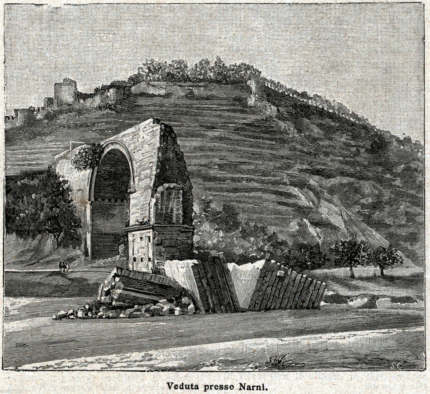 1895 Enciclopedia Illustrata edition Sonzogno narni