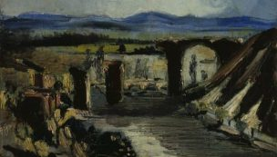 1926 Filippo de Pisis d apres Corot