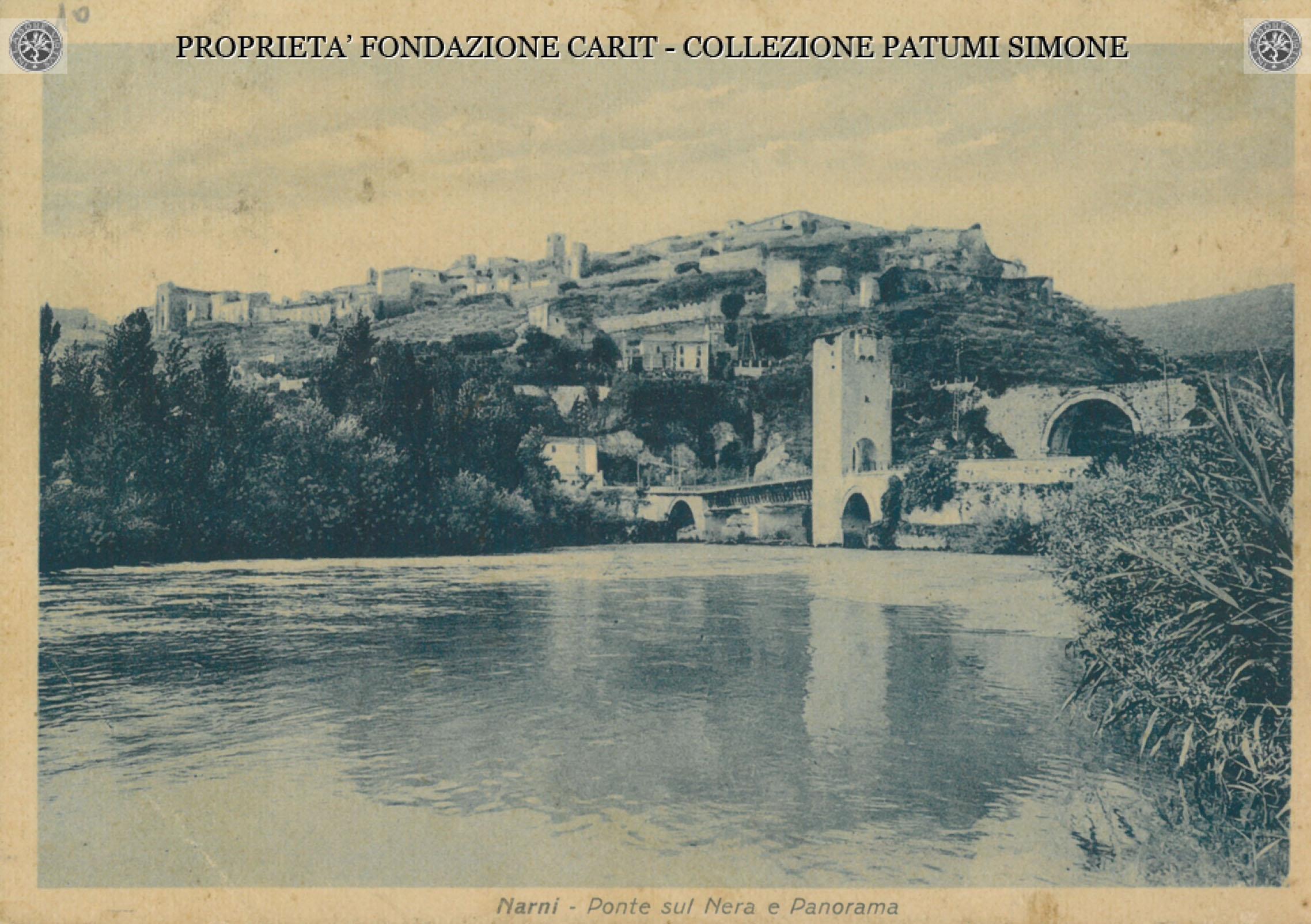 1938 Narni Collection Patumi Simone, Cassa di Risparmio di Narni e Terni
