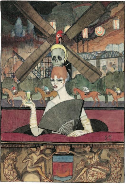 Jeanne Mammen Moulin Rouge 1916