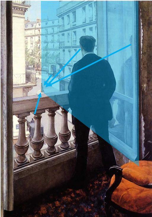 Caillebotte_-_Jeune_homme_à_la_fenetre Miroir