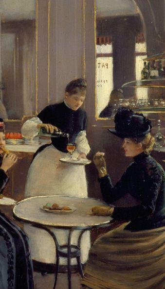 Jean Beraus Patisserie Gloppe 1886 Detail