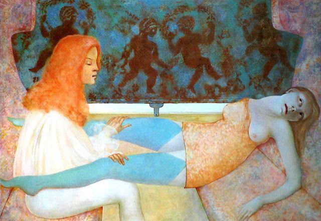 1974 Leonor Fini le-long-chemin