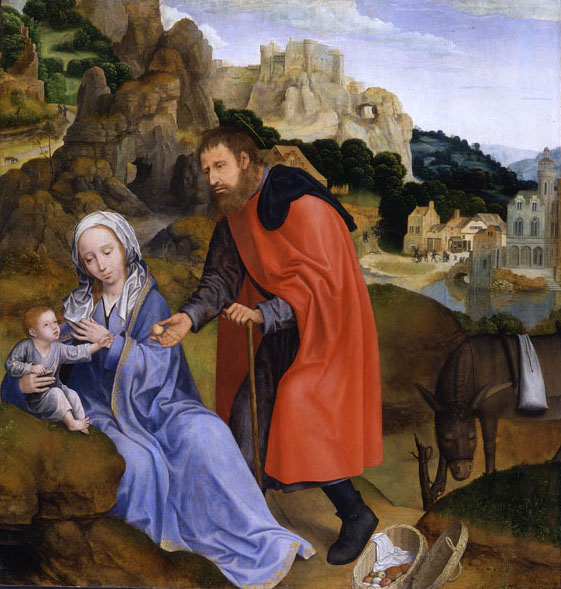 Quentin Metsys 1513 Repos pendant fuite Egpyte
