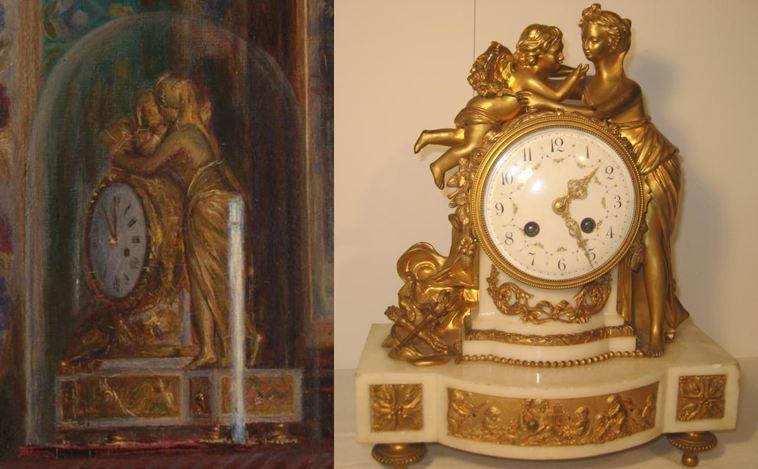Hunt_Eveil Conscience_horloge_amour et psyche