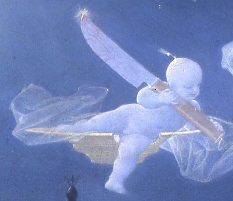 Lecomte_du_Nouy 1874_Le Songe de l'Eunuque_detail Cupidon
