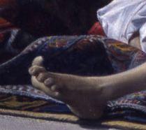 Lecomte_du_Nouy 1874_Le Songe de l'Eunuque_detail doigt