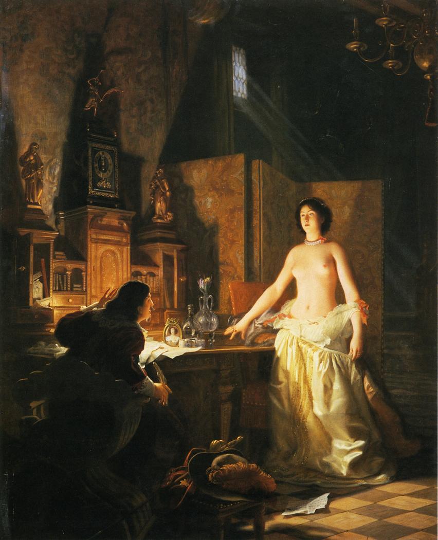 Lecomte_du_Nouy_Mademoiselle de Maupin