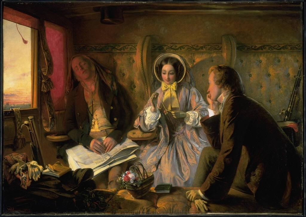 A_Solomon First_Class-_The_Meeting,_and_at_First_Meeting_Loved._Abraham_Solomon