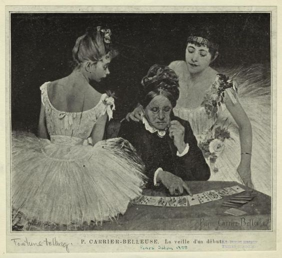 Pierre Carrier-Belleuse 1888 La veille d'un debut