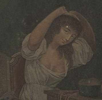 Boilly On la tire aujourd'hui_seconde fille