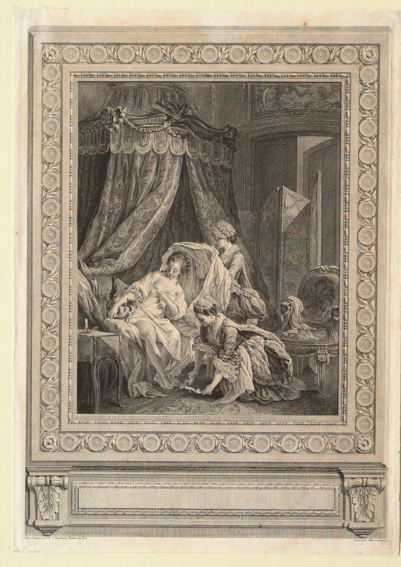 Le lever Massart d'apres Baudoin 1771
