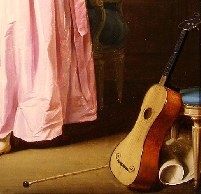 boilly La Moquerie_guitare