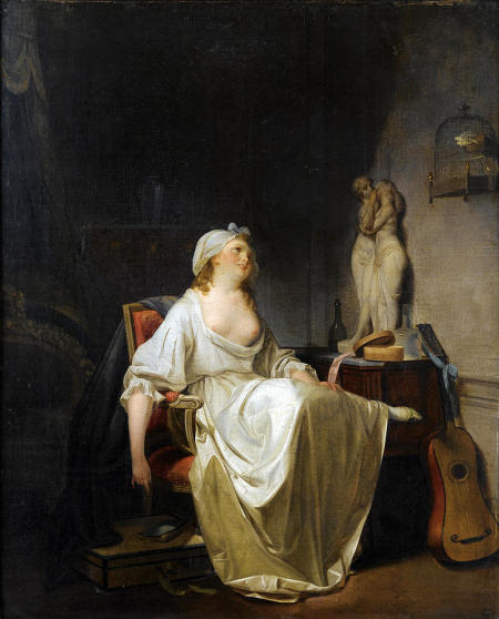 the-toilet-louis-leopold-boilly 40,5 x 33,5 cm