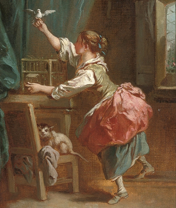 60962803_Follower_of_Francois_Boucher_An_interior_with_a_girl_letting_a_dove_out_of_its_cage