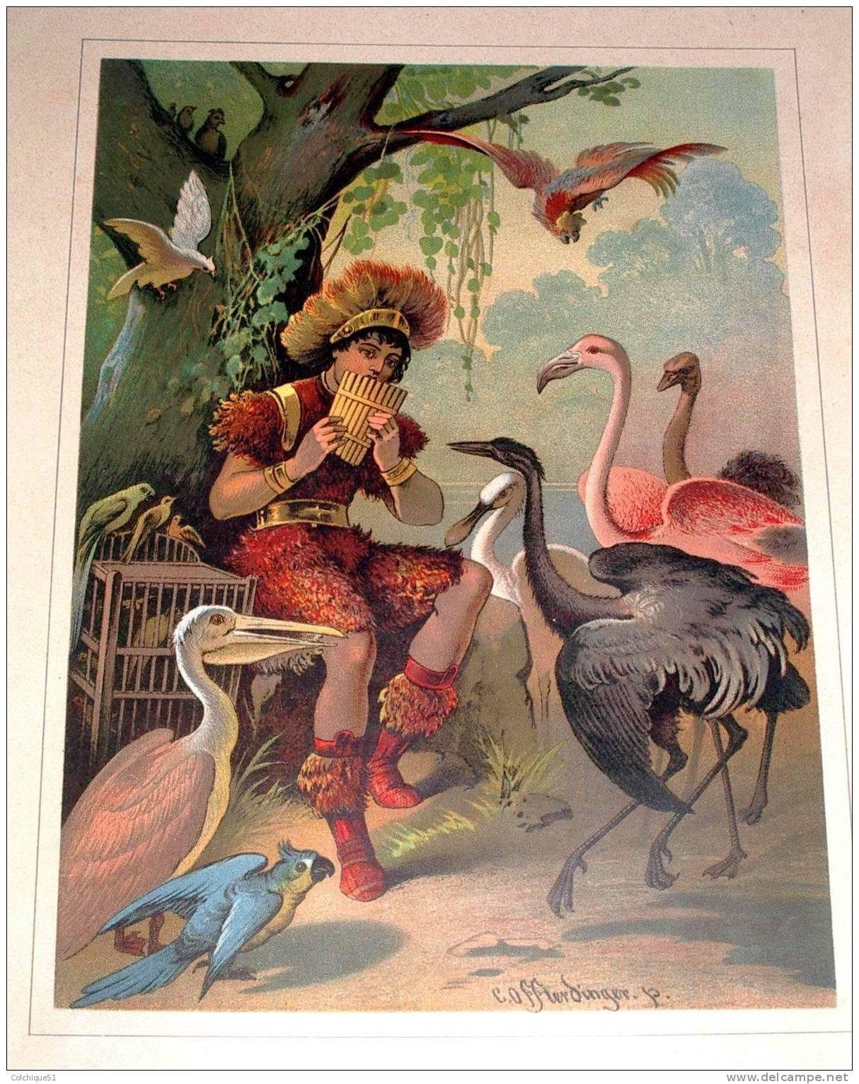 Carl Offterdinger La Flute enchantee 1884