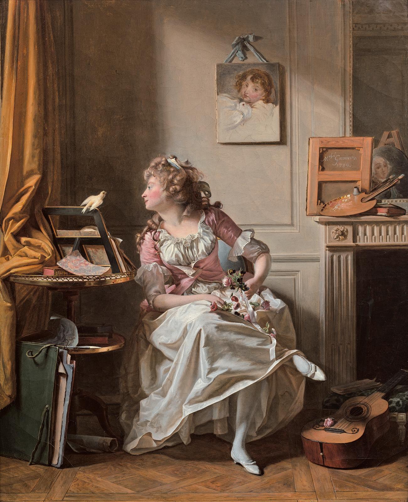 Garnier 1789 La femme peintre coll part