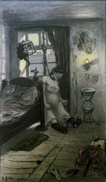 H.Zille, Erhaengte Frau -  -
