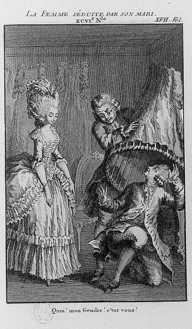 Les contemporaines - Rétif de la Bretonne(1780)