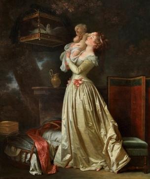 Marguerite gerard L oiseau cheri coll privee
