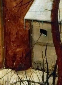 Pieter_Bruegel_L ancien Le trebuchet oiseleur cache