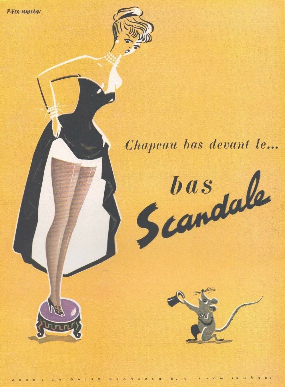 Scandale 1951 Pierre Fix Masseau