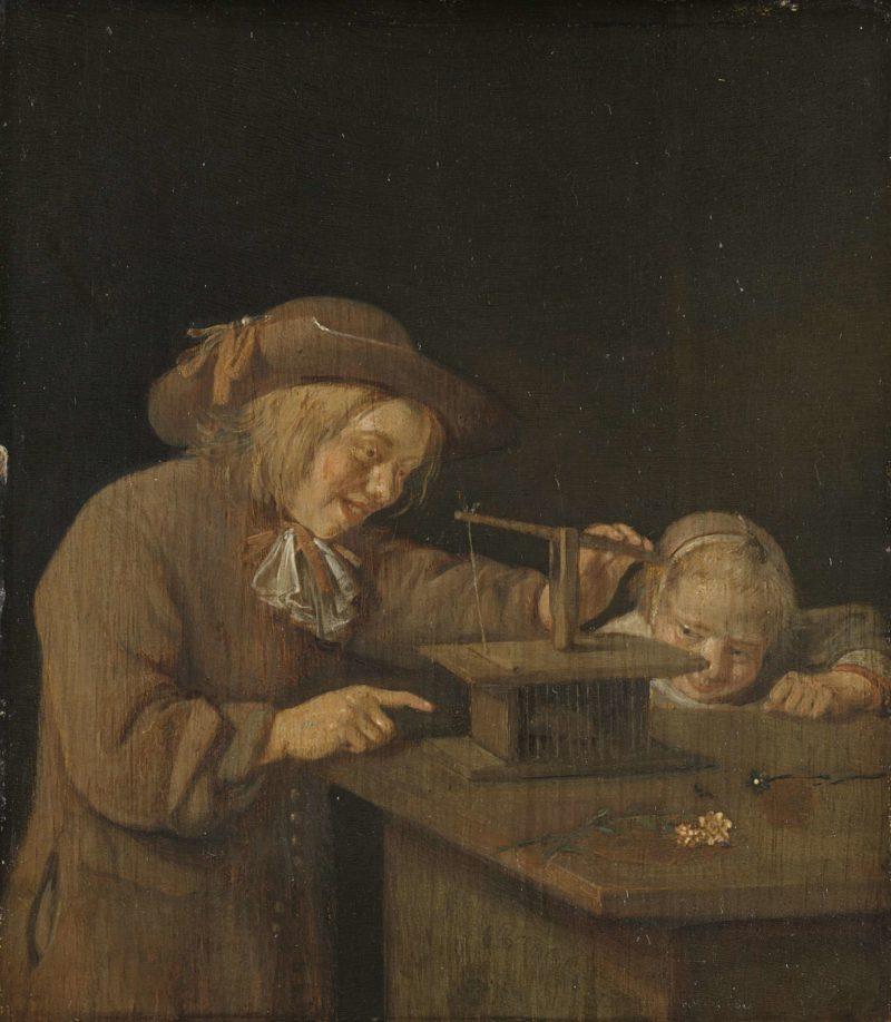 The-mousetrap.-1660-Quiringh-Gerritsz.-van-Brekelenkam Rijksmuseum