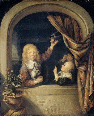Van-Tol-Mousetrap-Rijksmuseum-1660 - 1676