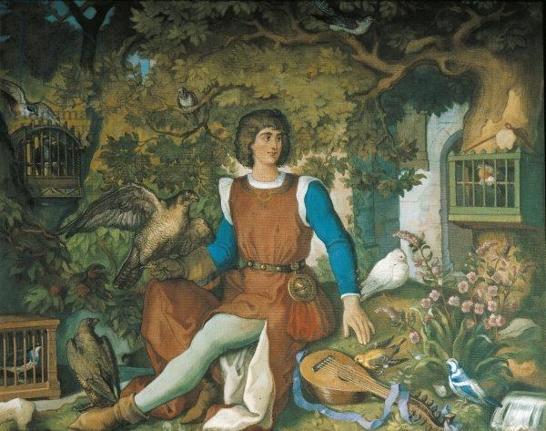 Walther von der Vogelweider Eduard Ille
