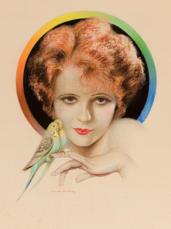 charles-gates-sheldon Clara Bow, Photoplay Magazine cover, 1929