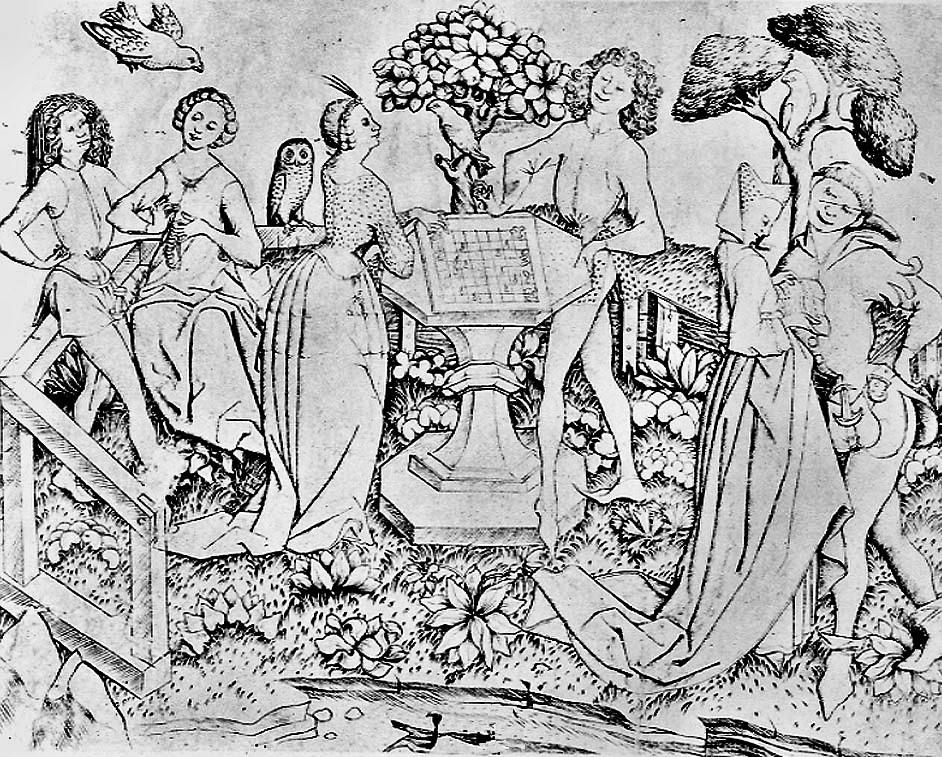 1465 Maitre E.S. Le Jardin d'amour