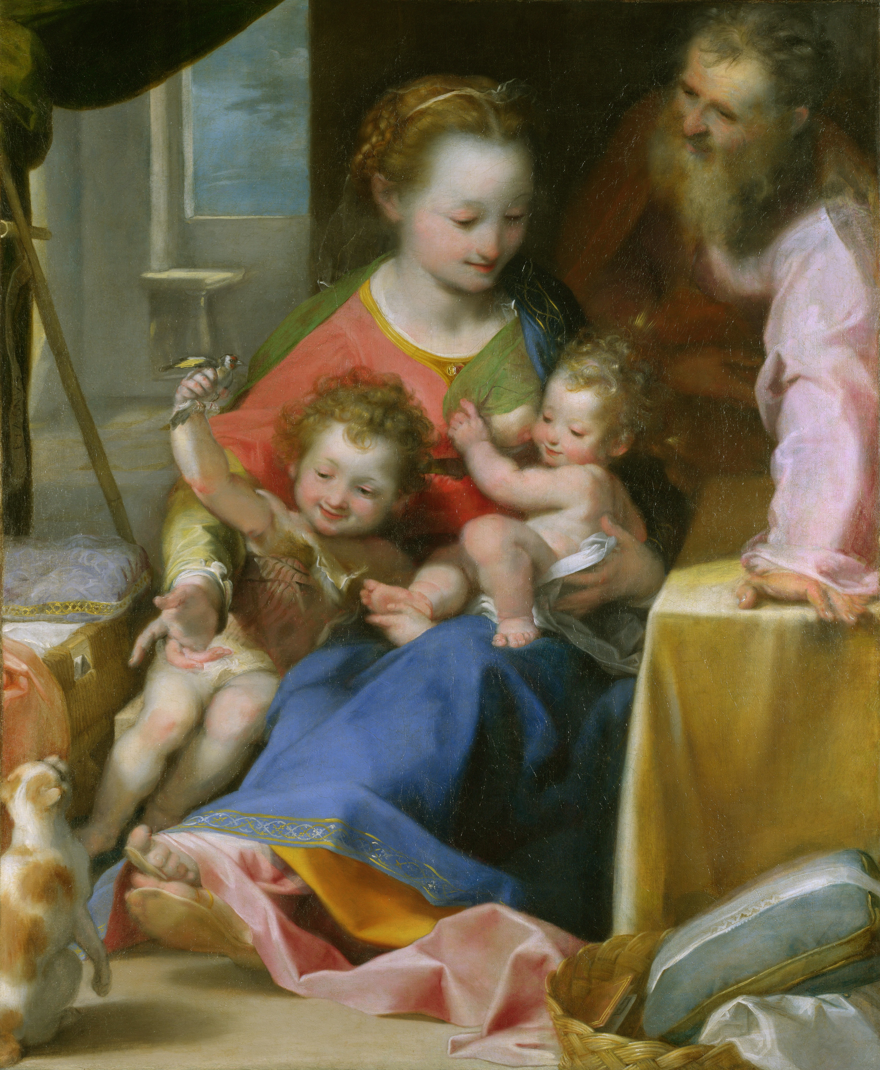 Federico_Barocci_-_La_Madonna_del_Gatto-1575
