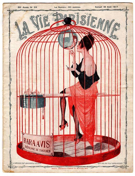 Georges Leonnec La Vie Parisienne, 18 Aout 1917