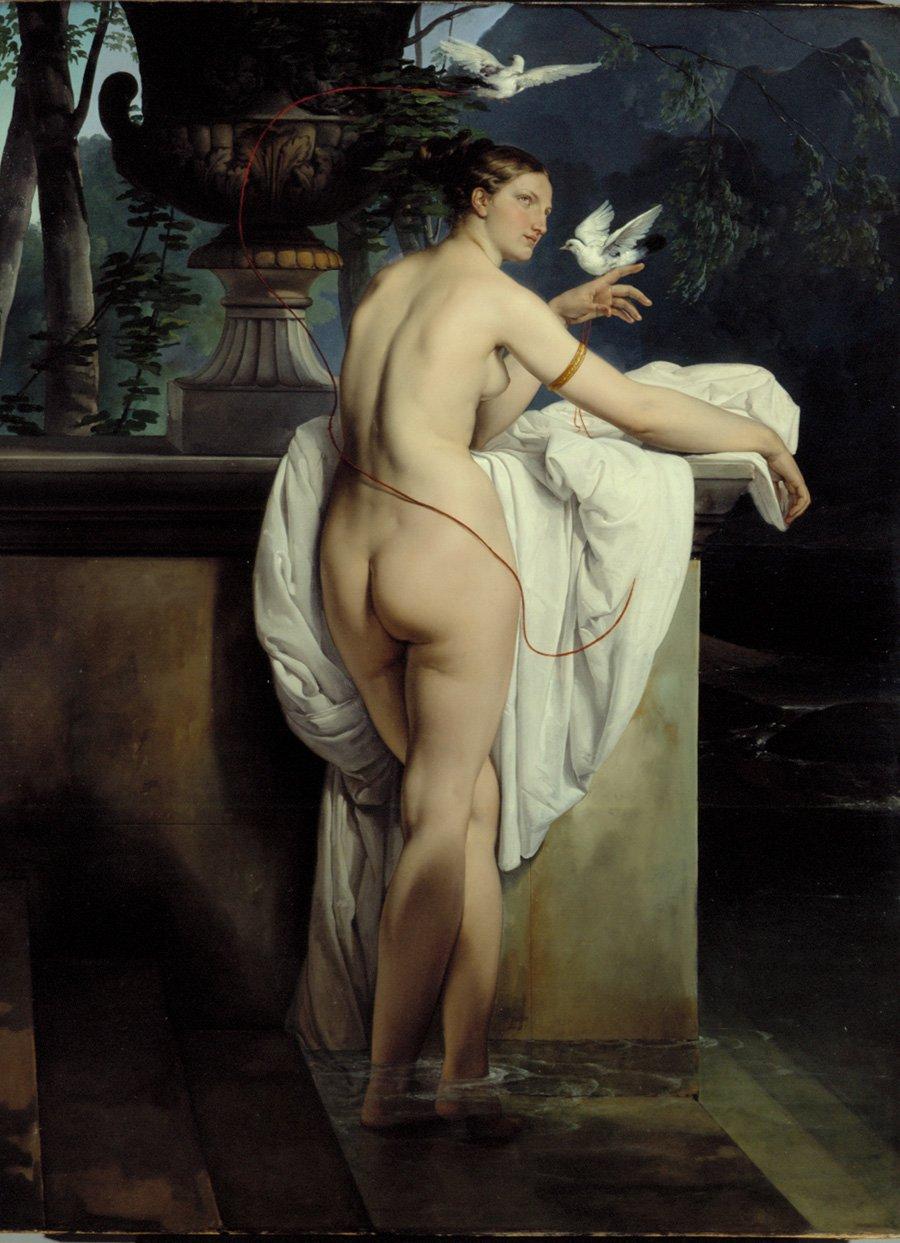 Hayez ballerina-carlotta-chabert-as-venus-1830
