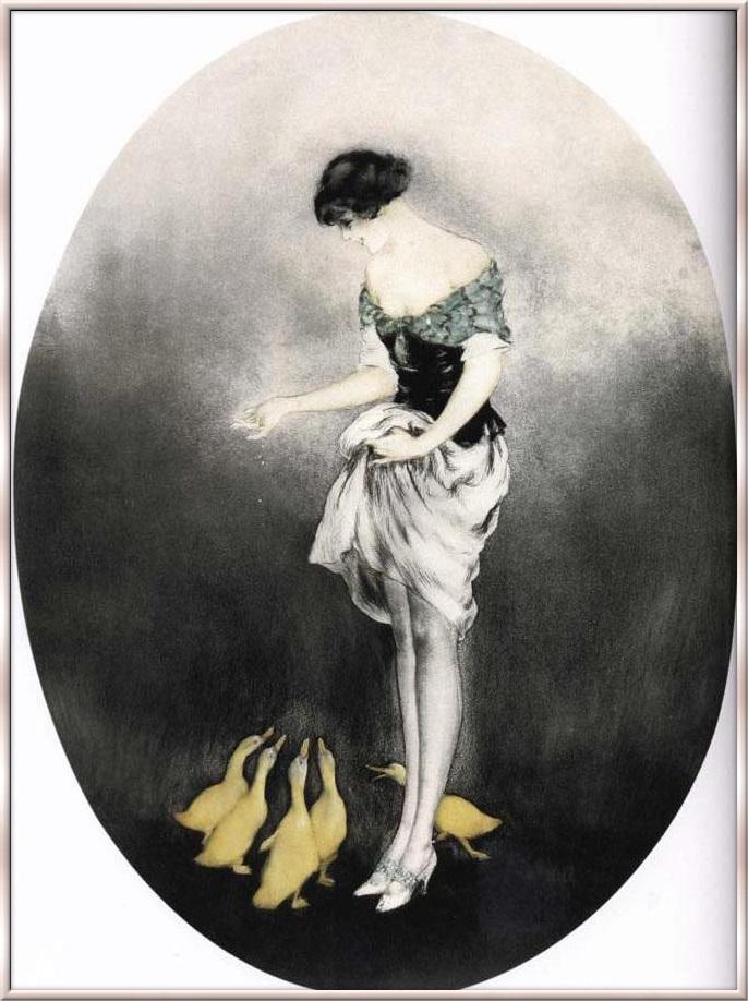 Icart-Le gouter 1927