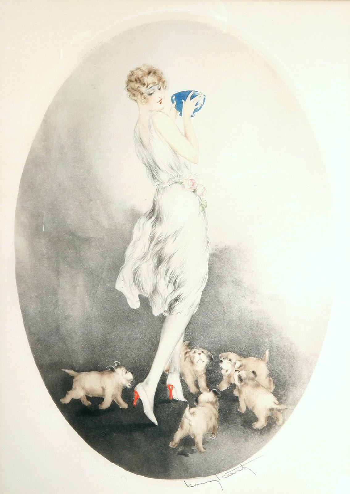 Icart-Petit dejeuner 1927