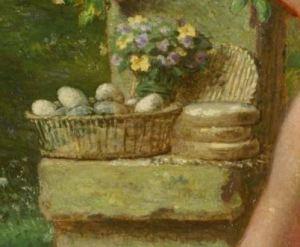 Jean-François_Millet_-_Spring_(Daphnis_and_Chloe)_1865 detail offrandes