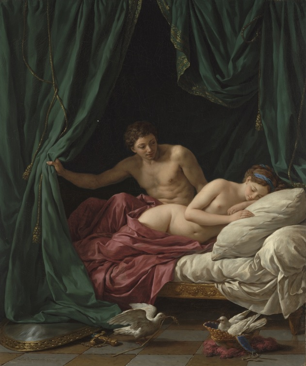 Lagrenee allegorie de l'amour getty